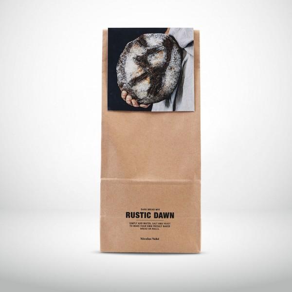Nicolas Vahé biologische, dunkle Brotbackmischung - Rustic Dawn 600g