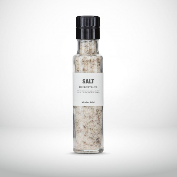 Nicolas Vahé Glasmühle Salz - Geheimmischung 320g