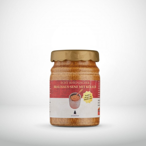 Echt Rheinischer Brauhaus-Senf mit Kölsch 200ml