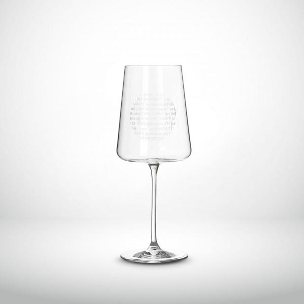 "Weinglas ""Vino Apero"" räder Design"
