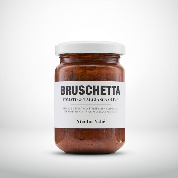 Nicolas Vahé Bruschetta Tomate & Taggiasca Oliven 135g