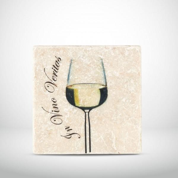 Marmorkachel In Vino Veritas Weißwein