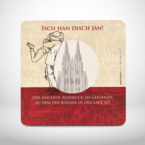 "Kölner Frühstücksbrettchen ""Isch han Disch jän!"""