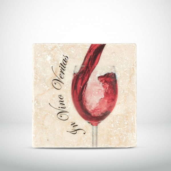 Marmorkachel In Vino Veritas Rotwein