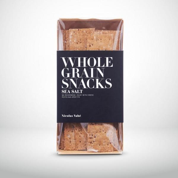 Nicolas Vahé Vollkorn-Cracker mit Meersalz 100g