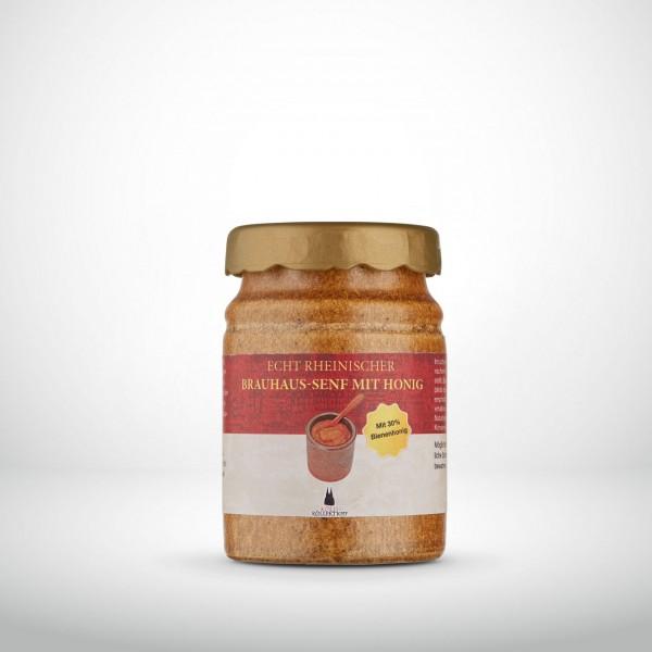 Echt Rheinischer Brauhaus-Senf mit Honig 200ml