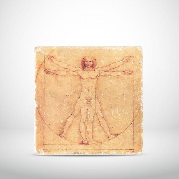 Marmorkachel Der Vitruvianische Mensch